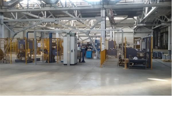The new manufacturing area
