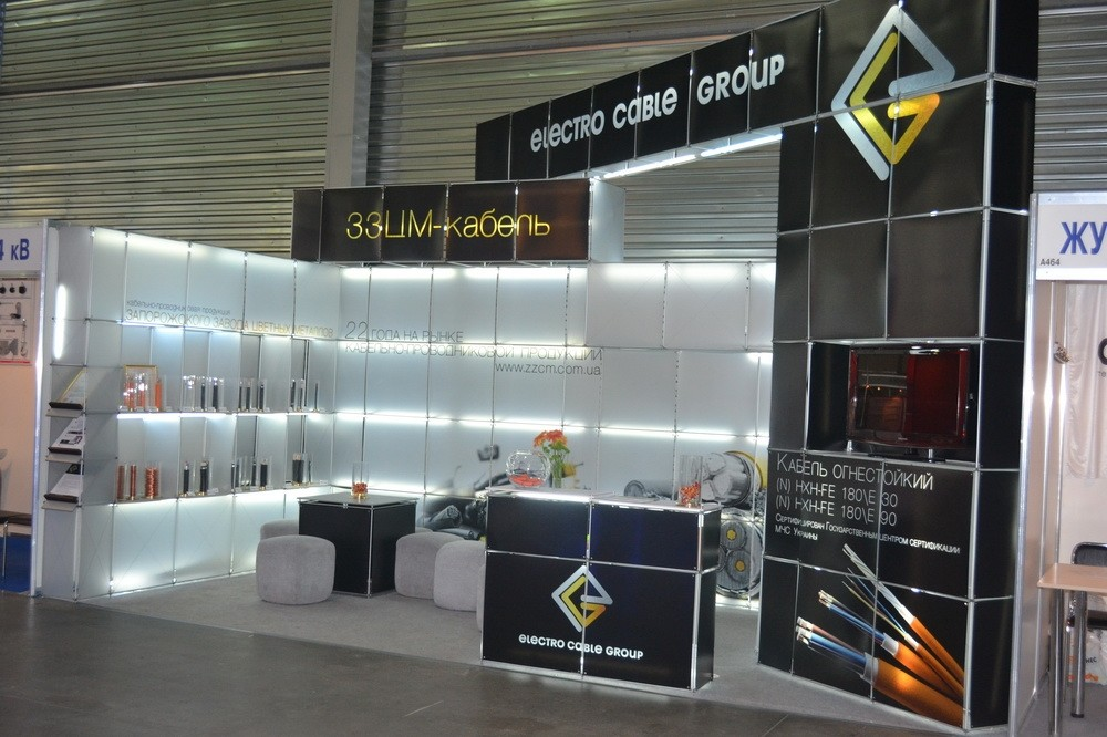 Stand of ZFNM at the exhibition «Elcom 2013», Kiev