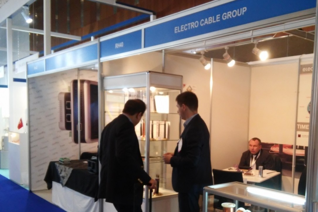 Наш стенд на выставке Middle East Electricity 2015, Дубаи