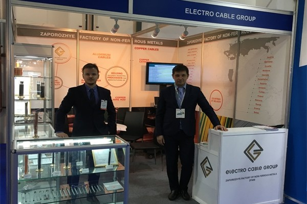наш стенд на выставке Middle East Electricity 2016, Дубаи